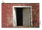 Barn Door And Cedar Carry-all Pouch