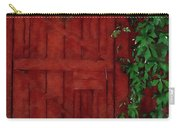 Barn Door With Ivy Carry-all Pouch