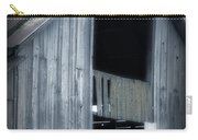 Barn In Blue Carry-all Pouch