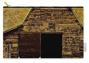 Barn In Sepia Carry-all Pouch