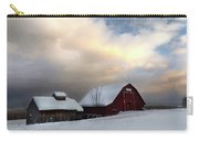 Barn In Solitude Carry-all Pouch