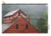 Barn In Vermont Along Amtrack Carry-all Pouch