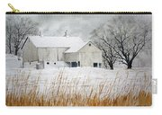 Barn In Winter Carry-all Pouch