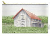 Barn Near Forest Carry-all Pouch
