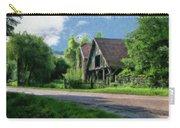 Barn Near Lac De Panthier - P4a160017 Carry-all Pouch