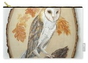 Barn Owl - Enduring Insight Carry-all Pouch