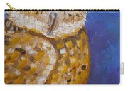 Barn Owl- Impressionism- Owl By Night Carry-all Pouch