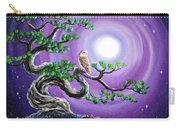 Barn Owl In Twisted Pine Tree Carry-all Pouch