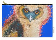Barn Owl Painting Carry-all Pouch