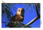 Barn Owl Stare Carry-all Pouch