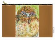 Barn Owl Thinking Carry-all Pouch