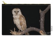 Barn Owl Tyto Alba Carry-all Pouch
