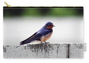 Barn Swallow At Fort Larned Carry-all Pouch