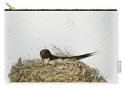 Barn Swallow Nesting Carry-all Pouch
