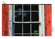Barn Window Closeup At Old World Wisconsin Carry-all Pouch