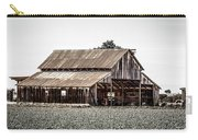 Barn With Outhouse Carry-all Pouch