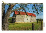 Barn With Red Metal Roof Carry-all Pouch