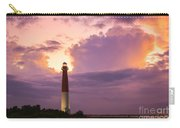Barnegat Lighthouse Stormy Sunset Carry-all Pouch