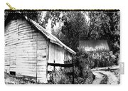 Barns In Black And White Carry-all Pouch