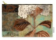 Baroque Hydrangea Patchwork Carry-all Pouch