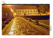 Baroque Town Of Varazdin Square At Evening Carry-all Pouch
