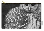 Barred Owl Beauty Carry-all Pouch