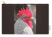 Barred Rock Rooster Carry-all Pouch