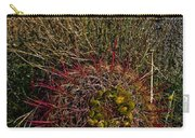 Barrel Cactus Top View Carry-all Pouch