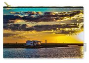 Barrier Island Sunset Carry-all Pouch