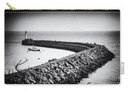 Barry Island Breakwater Film Noir Carry-all Pouch