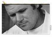 Barry Sadler 1 With Guitar Tucson Arizona 1971 Carry-all Pouch