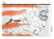 Barry Sanders Jr Carry-all Pouch