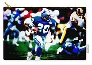 Barry Sanders On The Move Carry-all Pouch
