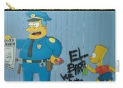Bart Was Here Carry-all Pouch