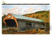 Bartonsville Covered Bridge Carry-all Pouch