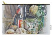 Baseball And Beer Carry-all Pouch