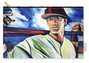 Baseball Crucifix Carry-all Pouch by John Jr Gholson