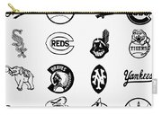 Baseball Logos Carry-all Pouch