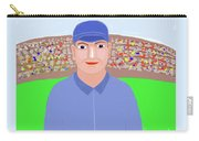 Baseball Star Portrait Carry-all Pouch