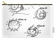 Baseball Training Device Patent 1961 Carry-all Pouch