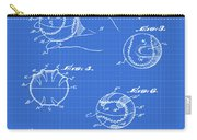 Baseball Training Device Patent 1961 Blueprint Carry-all Pouch