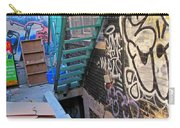 Basement Apartment In Graffiti Alley Carry-all Pouch