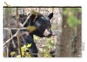 Bashful Black Bear Carry-all Pouch