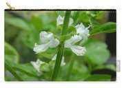 Basil Blossom Carry-all Pouch
