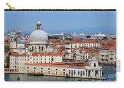 Basilica Della Salute And Punta Della Dogana In Venice Italy Carry-all Pouch