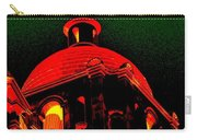 Basilica Of The Little Flower, Dome With Green Sky Carry-all Pouch