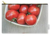 Basket Of Fresh Red Tomatoes Carry-all Pouch