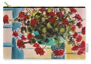 Basket Of Geraniums Carry-all Pouch