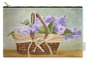 Basket Of Lilacs Carry-all Pouch