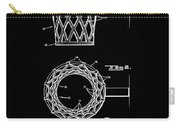 Basketball Net Patent 1951 In Black Carry-all Pouch